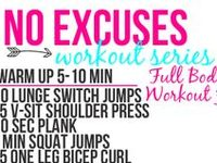 Easy exercise ideas.