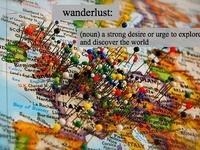 """""""Not all those who wander are lost"""" ~J R R Tolkien"""