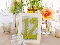 Different ways to number your reception tables