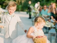 Great ideas for your ring bearer and flower girl