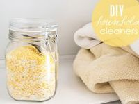 DIY and natural beauty supplies and household cleaners