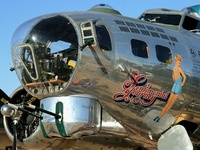 nose art, pin ups, and vintage adverts