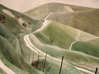 Landscapes painted, printed and drawn - to inspire