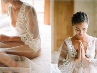 Boudoir shoots and beautiful under-the-dress inspiration - for an incredible surprise for your new husband.....