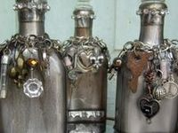 Altered Bottles Beautiful