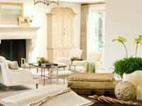 Interior design white and neutral