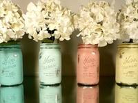 Crafts. - Jars, Glassware, Vases, Pots, etc.