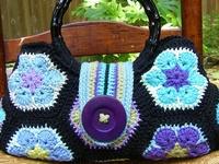 Crochet Purses/Tote Bags