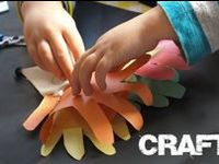 Fun crafts to make with the kids. Easy projects which the whole family will love.