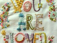 Stitch - embroidery, cross-stitch etc