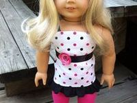 American Girl doll clothes from various doll clothing designers to purchase.