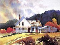 Watercolor / Architecture 6