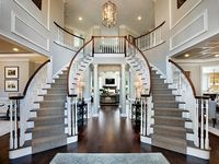 Grand, sweeping staircases, or rustic stairs - they invite me.