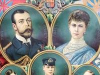 British-Queen Mary and King George V