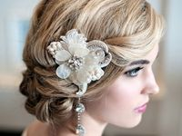 Hairstyles for the beautiful Bride