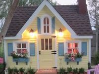 Home- Outdoor Spaces Playhouse
