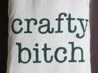 According to the Urban Dictionary, the definition of a Crafty Girl is: a girl who is quick witted, very funny, and usually from the South. She draws people in with her accent. She is loved by all. Oh... And she makes shit too! (I added that last part)