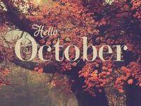 My favorite season...hot apple cider, pumpkins, leaves changing color.