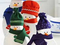 Snow People Crafts