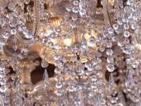 Ambience of Chandeliers and Mirrors