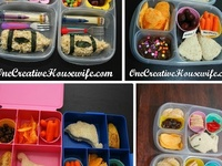 Lunch Ideas for the kids and Hubby... and just otherwise fun food :) .