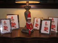 Elf on the Shelf ideas, ELF the movie pics, and elf stuff to make and buy