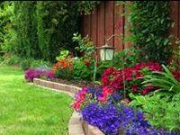 Garden yard outside decor patio
