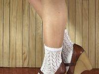 Legwarmers, lace legwarmers, socks, boot socks, lace socks, lace boot cuffs. knitting legwarmers patterns, crochet legwarmers and socks, lace socks.