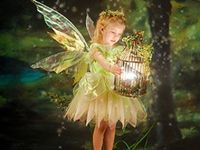 Garden fairies come at dawn, bless the flowers then they're gone.  Leave room in your garden for fairies to dance.