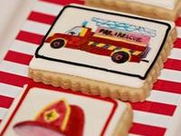 vintage | fire | truck | boy | birthday | party | ideas | cake | decorations | themes | supplies | favor | invitation | cupcakes