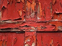 rusted, peeled, scraped, decayed, washed, beat, weathered, aged, transformed, abandoned... Beauty