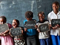 COMMUNITY OF CARING IDEAS... Free the Children : Be the Change... Me to We : Live the Change...