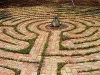 """""""We are all on the path...exactly where we need to be. The labyrinth is a model of that path."""" -Unknown"""