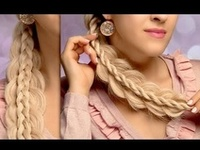 Quick and easy hair and makeup tutorials where I show step by step how to recreate popular  makeup looks and hairstyles  for everyday and for special occasions - braids, updos, half up half down hairstyles.