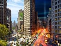 Nature, Light: Towns, Cities