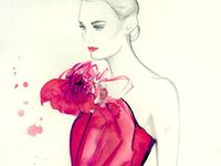 Fashion sketches, illustrations and more...