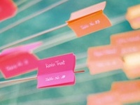 escort cards, seating & place charts