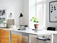 interior: home office