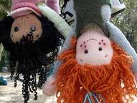 Dolls that are sewn & stuffed....art dolls for adults, play dolls for kids, bunnies, bears and other cuties