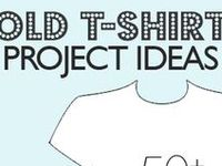 CRAFTS: SEW / T SHIRT MAKEOVERS