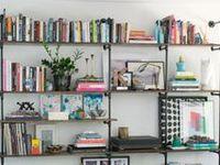 Bookshelves & Styling