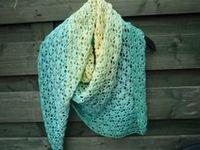 Crochet Scarves, Shawls, Cowls