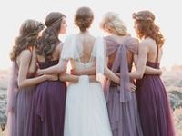 Pantone's wedding colour of the year for 2014 is Radiant Orchid, get ready for purples all over wedding land