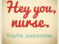 ...it's what I do - nursing...