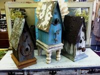 Birdhouses, feeders, and baths!
