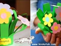 ideas DIY crafts for kids and preschool