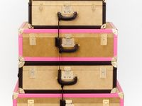 Suitcases and pretty boxes