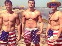 Hot. Men.