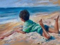 Pastel paintings and techniques