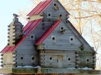 Birdhouses, Feeders, baths, hives, bees